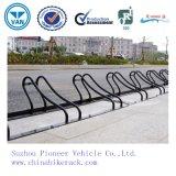 Rack de estacionamento de alta qualidade em pó revestido em pó ao ar livre