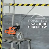 Powertec NewインドのProduct 2.6kwの2打撃Gasoline 58cc Chain Saw