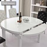 ホーム家具(CZ006A#)の現代円形のダイニングテーブルセット