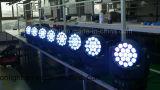 pista móvil de 19PCS 10W 4in1 LED para la iluminación de la etapa (ICON-M004B)