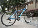 Fußboden - eingehangener Fahrrad-Zahnstangen-Standplatz für Garage-Fußboden