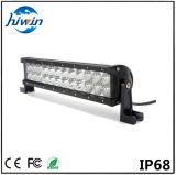 Barre légère combinée d'éclairage LED d'inondation d'endroit de 13.5 pouces pour lumière tous terrains de la rangée DEL de lumens élevés des véhicules 72W la double