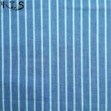 Il filato tessuto del popeline di cotone ha tinto il tessuto per le camice/vestito Rls40-3po degli indumenti