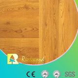 suelo fonoabsorbente V-Grooved grabado AC3 de Laminbated del roble de 8.3m m HDF