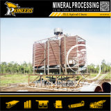 Petite minéral Roughing Selection Mining Gravity Spiral Gold Concentrator Equipment