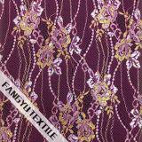 Яркая ткань шнурка конструкции цветка для платья