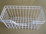 Сваренная полка ячеистой сети с PE покрыла для хранения еды холодильника