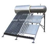 Calentador de agua solar del tubo de vacío de la eficacia alta 2016