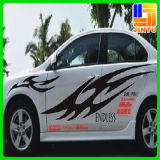 Etiqueta engomada impermeable del coche del diseño de la impresión de la insignia del abrigo libre del vinilo
