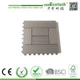Плитки Decking Anti-Slip плитки WPC DIY деревянные составные блокируя