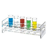 Plateau acrylique de portion en verre d'injection de Plexi