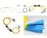 Acoplador de manutenção da fibra óptica de Fbt do filtro da polarização