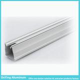 알루미늄 공장 양극 처리를 가진 모양 LED 알루미늄 단면도 열 싱크