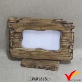 Het houten Vrije Bevindende Sjofele Elegante Frame van de Foto van de Lijst