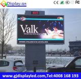 Pantalla de visualización de LED de la publicidad al aire libre de P10mm