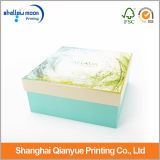 Blue Paper Cmyk Printing Cosmétique Gift Packaging Box (QY150225)