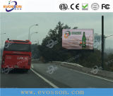 높은 광도를 가진 이동할 수 있는 영상 게시판 P12 발광 다이오드 표시