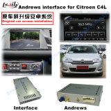 車シトロエンC4、C5のC3-Xr (MRNシステム)のアップグレードの接触運行、WiFi、Mirrorlinkの鋳造物スクリーンのための人間の特徴をもつGPSの航法システムビデオインターフェイス