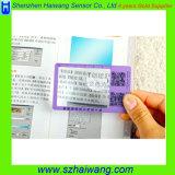 Righello quadrato portatile del Magnifier 6X con il righello della lente d'ingrandimento del PVC del segnalibro 187*65mm Hw-803A