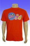 2016 rote T-Shirts der preiswerten Form-Polyester-Großhandelsmänner
