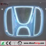 Emblema dell'automobile Backlit LED 3D per Honda