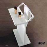 Kundenspezifische feste Oberflächenbadezimmer-Wand-Steinregale (KKR-1611092)