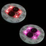 Copo de bebida promocional de garrafa LED com logotipo impresso (4040)