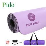 Cork van pvc NBR van Pu de RubberMat van de Yoga van EVA TPE