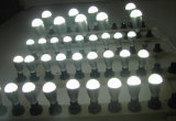 Luces de bulbo del socket E27 LED del aluminio Housing7w 9W85-265V