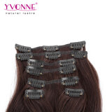 Brasiliano Human Hair Clip di 100% in Hair Extensions