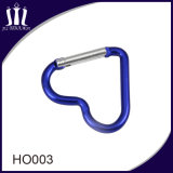 Costume da forma que trava Keychain Shaped Carabiner