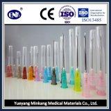 Ce&ISO가 의학 처분할 수 있는 주입 바늘 (24G), 승인된 상태에서