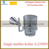 Gesundheitliches Ware-Badezimmer-Zubehör-Chrom-einzelner Trommel-Halter