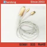 iPhone 7&#160를 위한 HDMI HDTV 변환기 케이블;