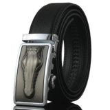 Personalizar homens rachados do couro do Reversible da curvatura da forma a correia de couro dos auto