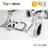 Кресло-коляска самолета продуктов 2016 Topmedi алюминиевая складная облегченная