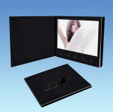 Neue Design LCD Book PU Leather Cover mit TFT Screen