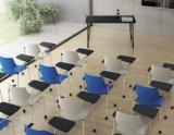 高品質の執筆ボードが付いている移動可能なプラスチックオフィスの椅子
