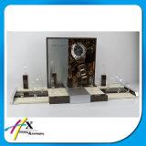 Visualización de madera de acrílico del cuero del reloj de la manera con el mejor precio