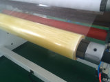 Double giratorio Shafts Rewinding Machine para Adhesive Tape.
