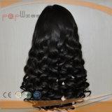 Parrucca di vendita superiore della parte anteriore del merletto dell'arricciatura di Afro di stile dei capelli umani di 100%
