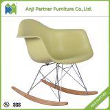 관례 21 세기 디자인 나무다리 (죤)를 가진 빛나는 플라스틱 의자 가구 거실