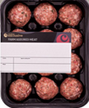 Alimento Meat Sausage Trays su Film