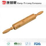 Goupille en bambou avec les poignées de rotation