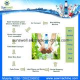 Purificação de água e linha de engarrafamento