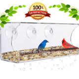 Câble d'alimentation acrylique d'oiseau de guichet de qualité meilleur pour de petits et grands oiseaux sauvages