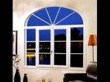 Finestra bianca di colore/finestra tondo superiore/finestra di griglia