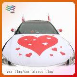 차를 위한 주문 탄력 있는 Farbic 차 두건 깃발