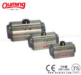 Cremalheira e Pinion Pneumatic Actuator com Double Acting