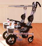 Qualität paart BabySpaziergänger/Pram mit Aluminiumlegierung